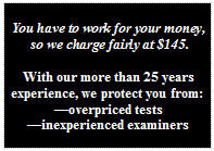 Affordable rates on a Los Angeles area polygraph exam