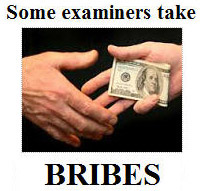 We hear about polygraph examiners who take bribes