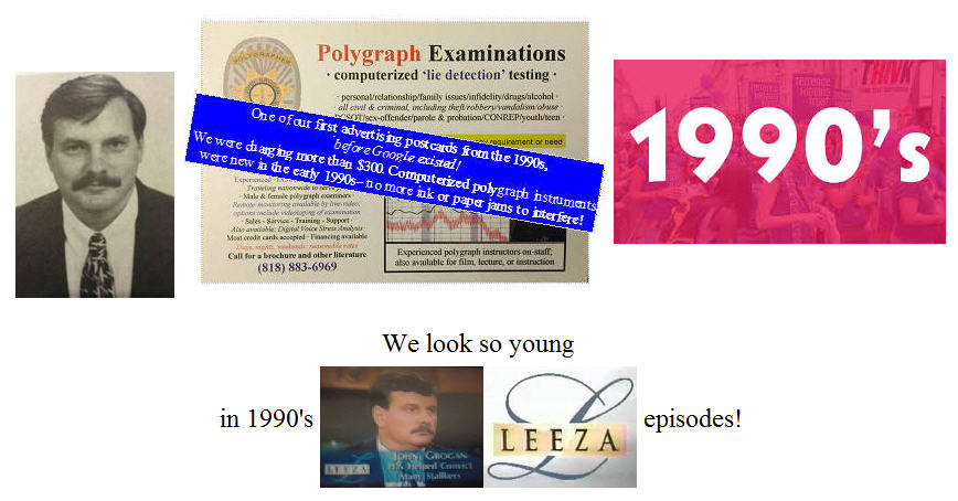 polygraph examinations in 1990s Los Angeles